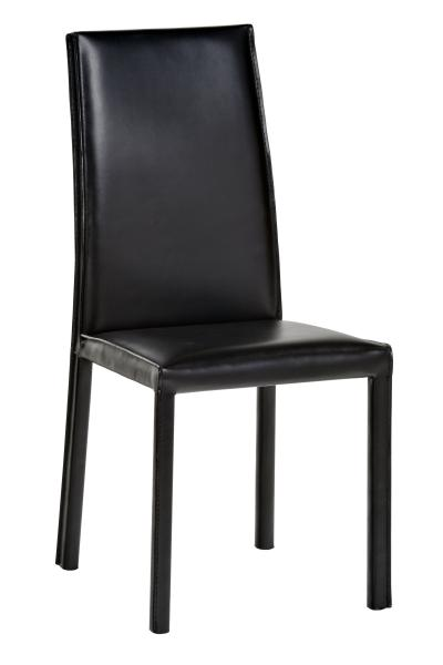 The Leather Dining Table Chairs Have Simple Uncluttered Lines That Look Right In Any Small Or Large Area